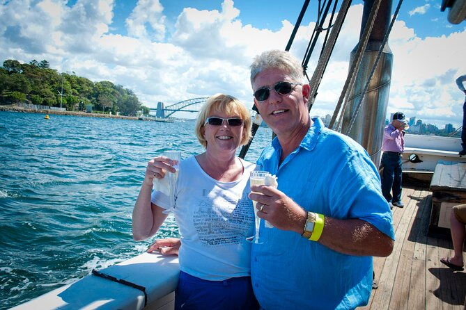 Sydney Harbour Tall Ship Champagne Brunch Cruise