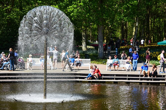 Keukenhof Gardens Skip-The-Line Ticket with Transfer from Amsterdam