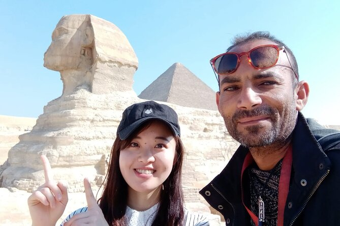 Layover Tours to Giza Pyramids , Sphinx and valley temple