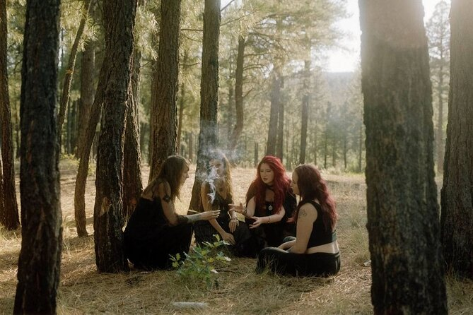 Wiccan Ritual Circle Healing Ceremony in Sedona