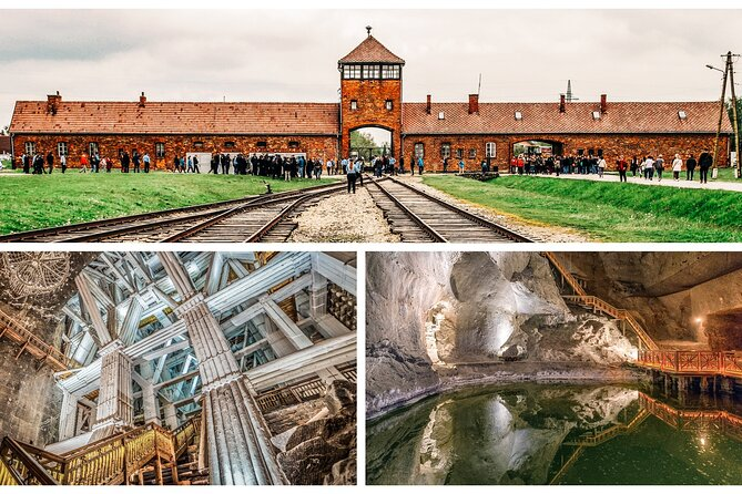 Auschwitz Tour and Salt Mines Krakow - One day trip with transport