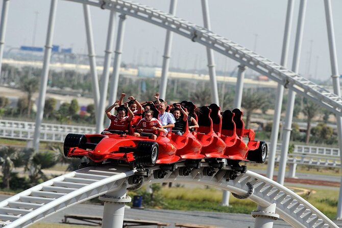 Ferrari world & Warner brother park with transfer from Dubai