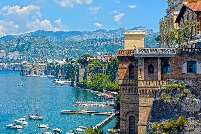 Pompeii Sorrento and Positano in One Day from Naples