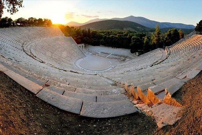 Ancient Corinth Epidauros Nafplio and Olympia tour (2 Days)