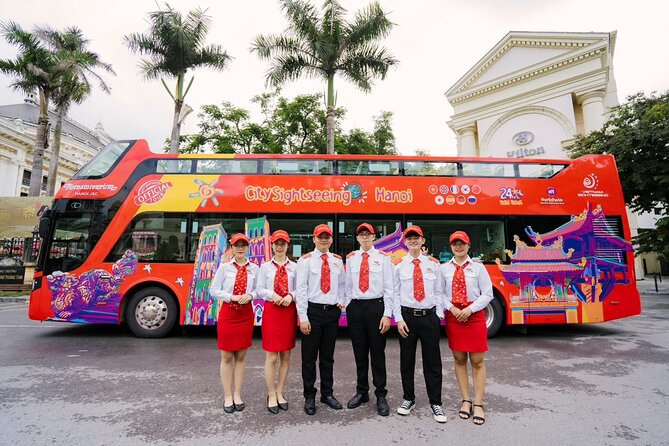 City Sightseeing Hanoi Hop-on-Hop-off Bus Tour