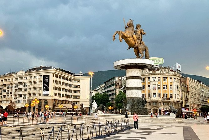 Private Day Tour of Skopje and North Macedonia from Tirana