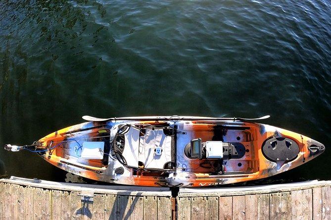 4-Hour Rental Premium Motorized Fishing Kayak