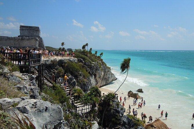 From Cancun & Riviera Maya: Tulum, Coba, Cenote & Mayan Village Private Tour
