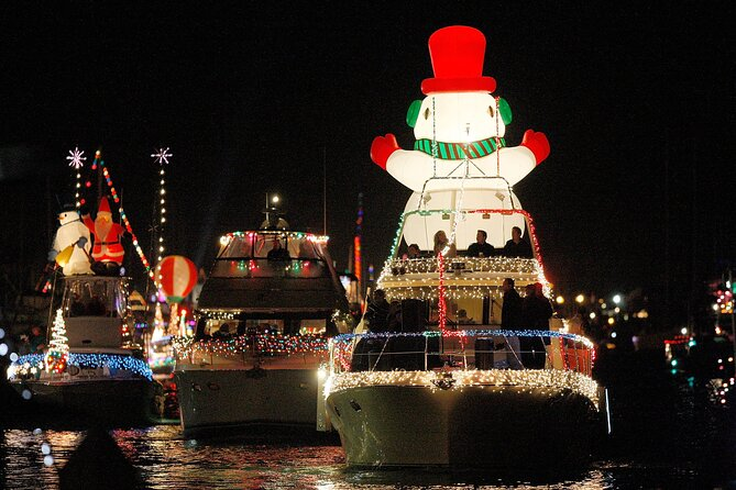 Private Newport Harbor Christmas Boat Parade Cruise from BayWatch Boat Charters