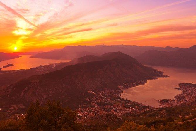 Kotor-Budva-Njegusi-Cetinje-Sveti Stefan day tour from Podgorica