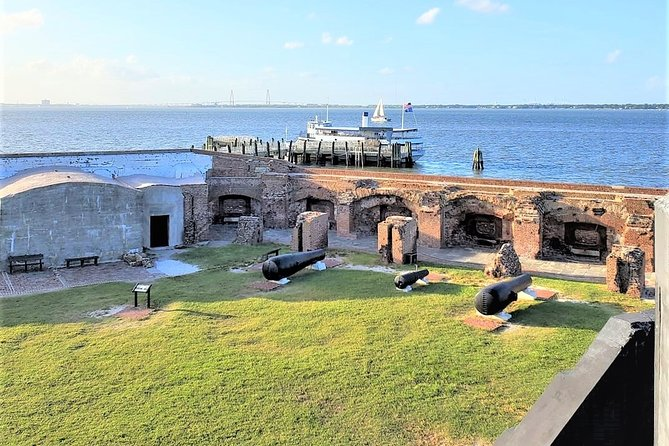 Fort Sumter Admission Ticket & Self-Guided Tour with Roundtrip Ferry Shuttle