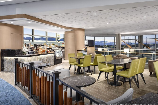 Vancouver International Airport Plaza Premium Lounge