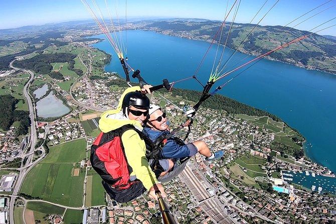 Paragliding Tandem in Switzerland