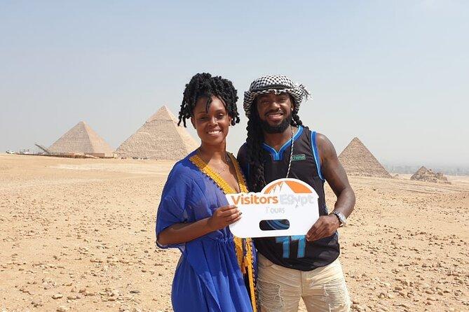 Private Full Day Tour to Pyramids & Sphinx & Sakkara & Dahshor