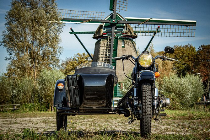 Private Half-Day Tour in North Holland in a Motorcycle