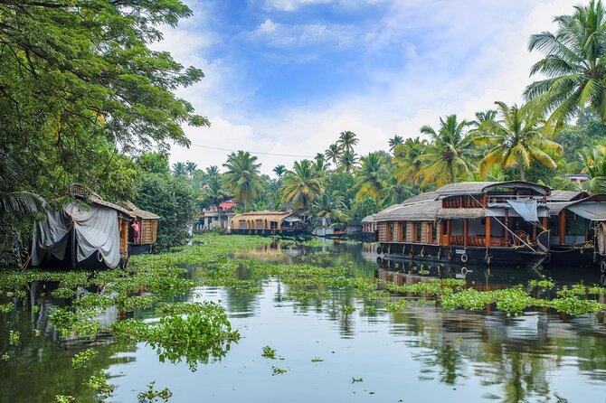 Cochin to Bangalore Backwater, Tea Estate, Temple & Palaces