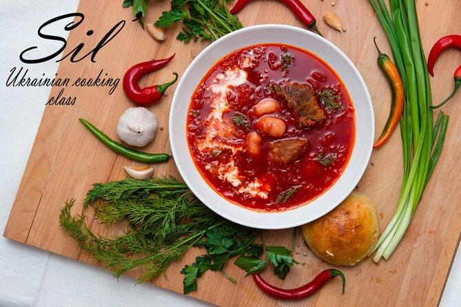 Clase de cocina ucraniana Sil '