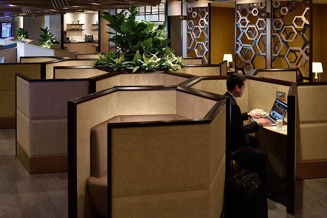 Singapore Changi Airport Plaza Premium Lounge at Terminal 1