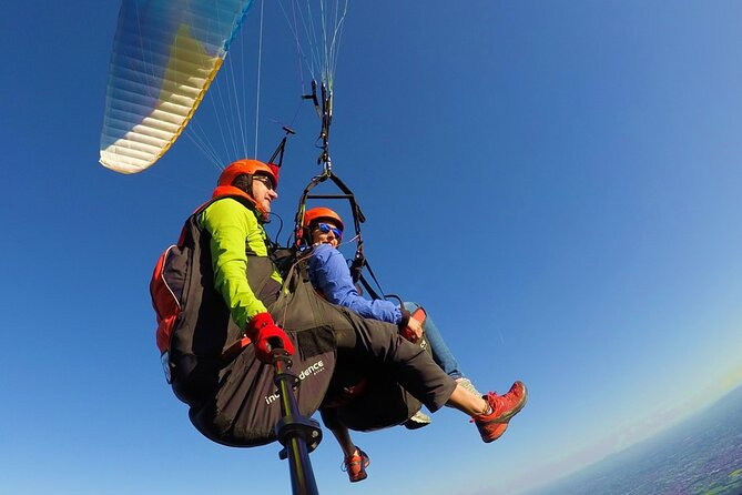 Private Tandem Paragliding Activity to Norma from Rome