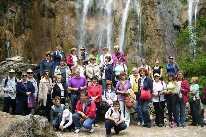 Plitvice Lakes Small Group Tour from Split or Trogir with included ticket