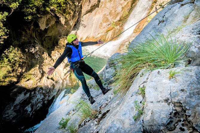 Extreme Canyoning Experience at the Cetina River from Split