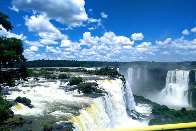 Small-Group Walking Tour of Iguazu Falls in Brazil