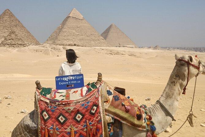 Private All Inclusive: Giza Pyramids, Sphinx, Memphis, Saqqara, Lunch & Camels