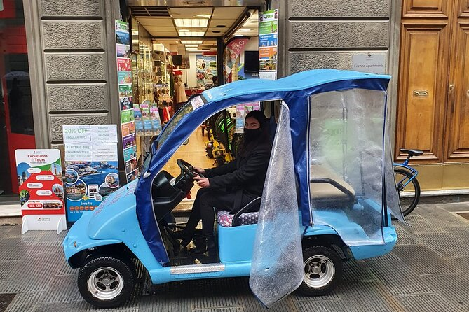 Electric Car Audio Tour in Florence