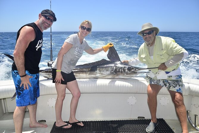 8 Hours Private Sport Fishing Charter Trip in Cabo San Lucas