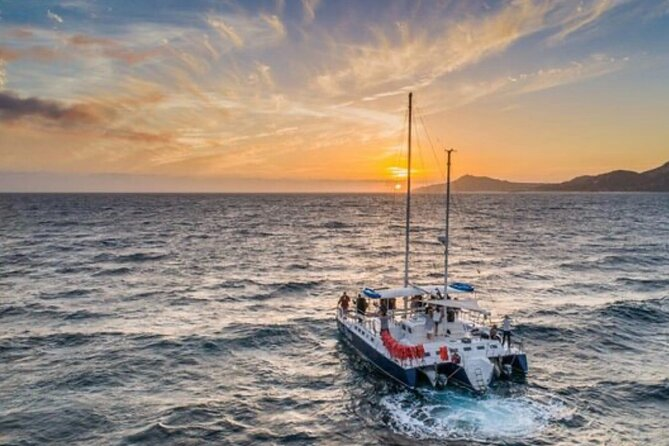 Catamaran Sunset Party in Cabo with Open Bar