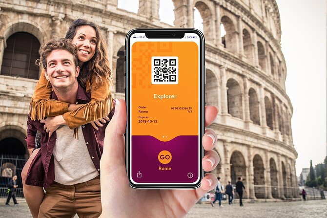Go Rome Explorer Pass with Colosseum and Vatican Museums