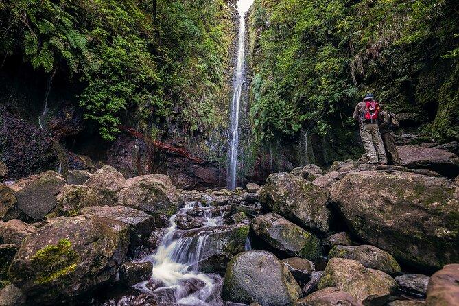 Balade à pied à Levada Rabaçal et à la cascade de 25Fontes