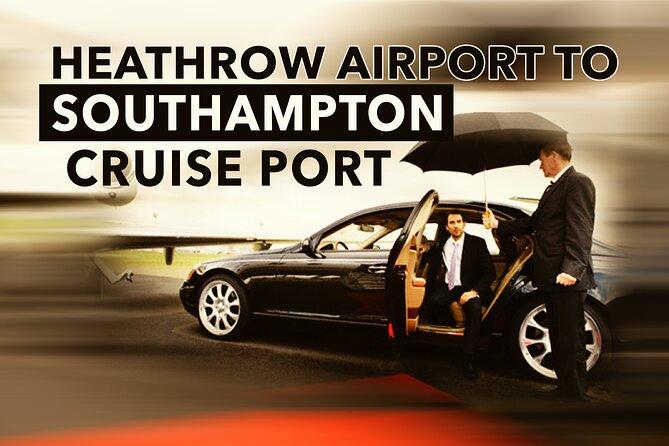 Heathrow To Southampton Cruise Port Transfers