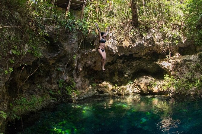From Cancun & Playa del Carmen: ATVs, Cenotes, Temazcal & Mayan Spa Private Tour