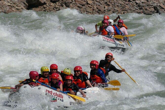 Rafting in Rishikesh- 16km