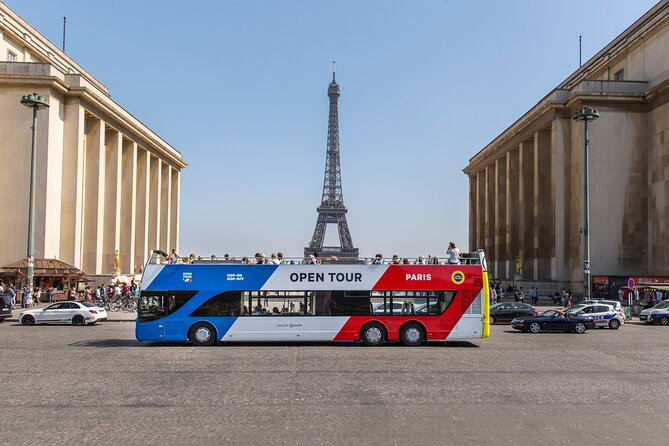 Open Tour Paris Sightseeing Bus Short Stay Friendly