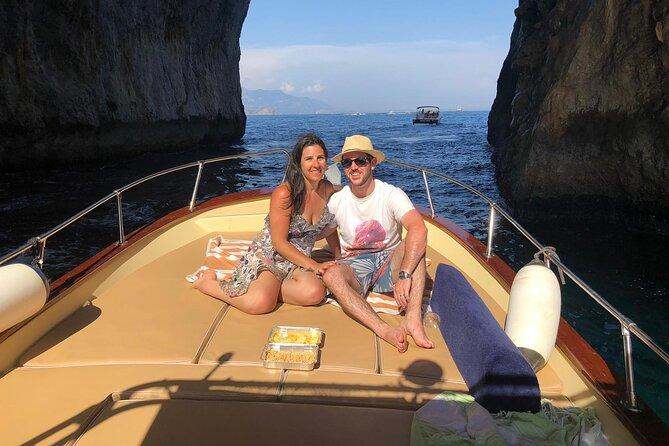 Capri Private Boat Tour from Capri (2 hours)