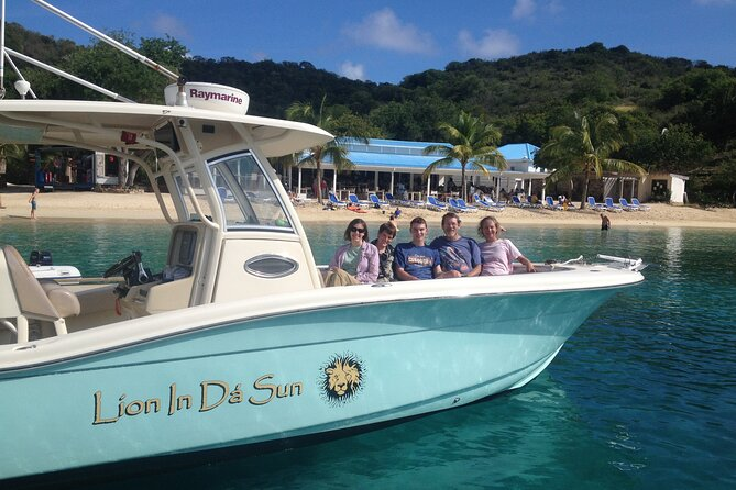 Private Full Day Boat Charter St. John St. Thomas Virgin Islands US BVI