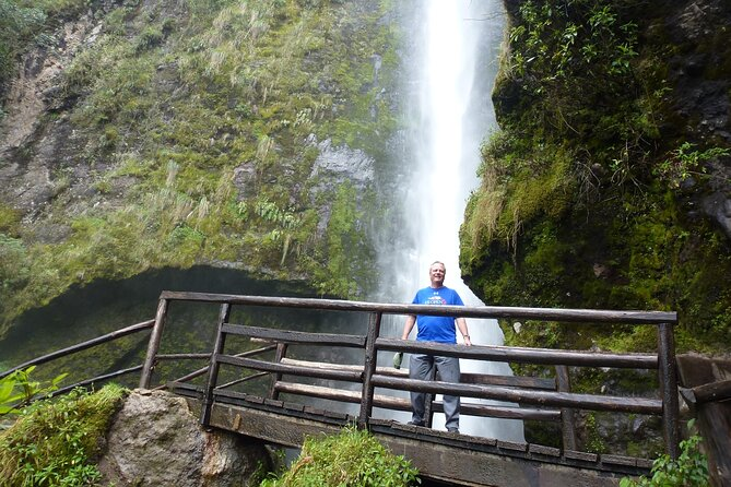 El Chorro waterfalls and Busa lake