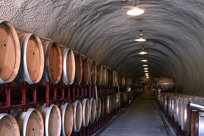 Small Group Redwoods and Wine Country Trip Including Wine Tasting and Cave Tour
