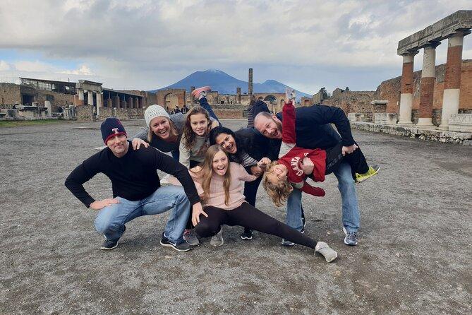 Amalfi Coast and Pompeii for Families Private Tour