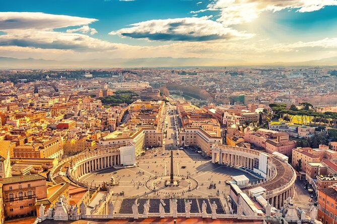 Rome:3-Hour Tour by Chauffeur-Driven Vehicle