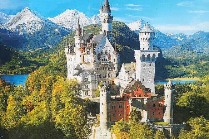 Rent a bike trom fuessen to Neuschwanstein castle