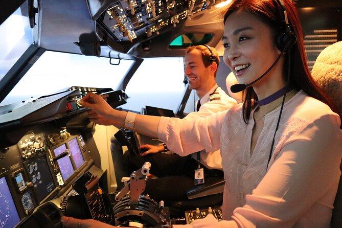 Experiencia de vuelo Singapur