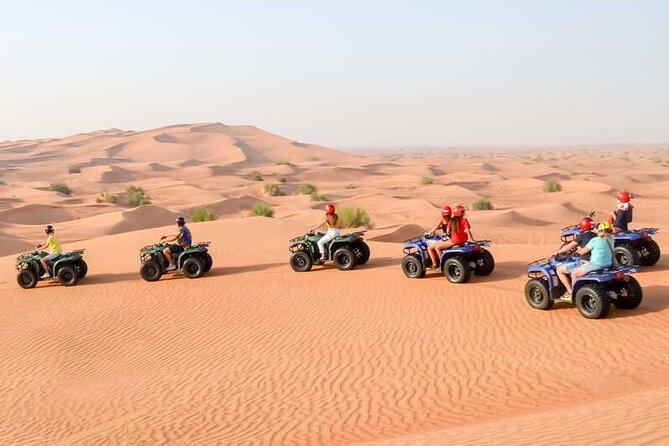 Morning Desert Safari with Camel Ride and Quad Bike