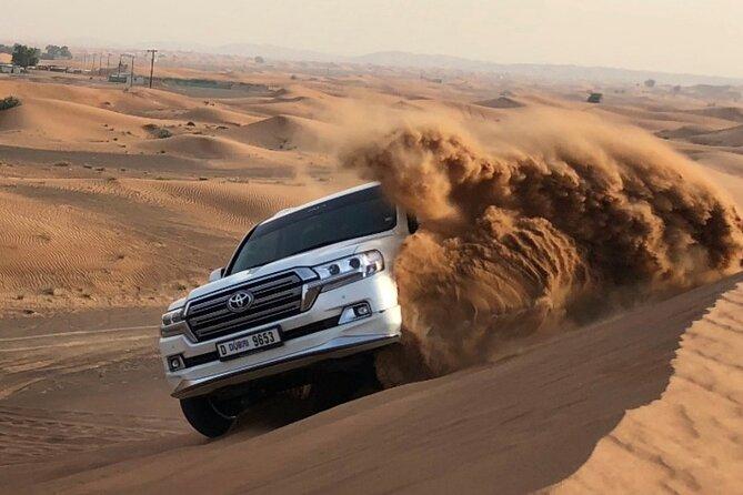 Morning Desert Safari with Camel Ride