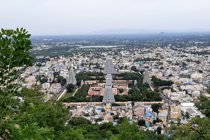 Day trip to Tiruvannamalai Temple and Sri Ramana Ashram from Pondicherry