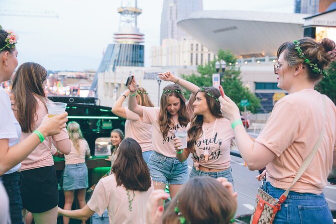 Nashville's Private Roofless Party Bus Experience