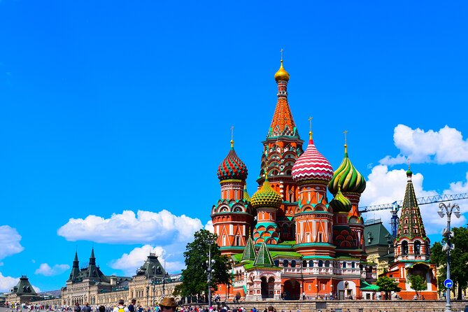 6-Day Classic Russia Tour to Moscow and St. Peterburg