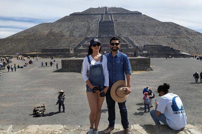 El mejor Tour Privado, Piramides de Teotihuacán y Basílica. todo iIncluido !